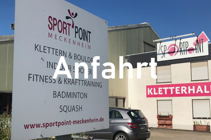 Anfahrt Sportpoint Meckenheim