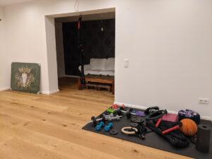 Fitnessgeräte, Homestory Claudia
